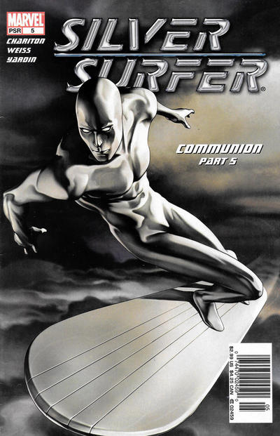Cover for Silver Surfer (Marvel, 2003 series) #5