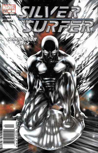 Cover for Silver Surfer (Marvel, 2003 series) #4 [Newsstand]