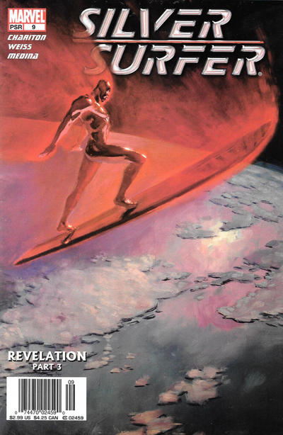 Cover for Silver Surfer (Marvel, 2003 series) #9