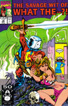 Cover for What The--?! (Marvel, 1988 series) #12