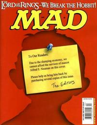 Cover Thumbnail for MAD (EC, 1952 series) #416