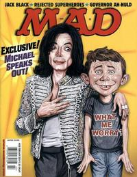 Cover Thumbnail for MAD (EC, 1952 series) #438 [Michael Jackson Cover]