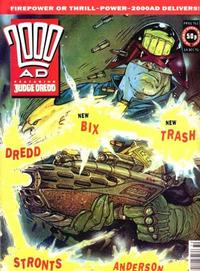 Cover Thumbnail for 2000 AD (Fleetway Publications, 1987 series) #761