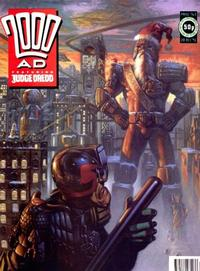 Cover Thumbnail for 2000 AD (Fleetway Publications, 1987 series) #763