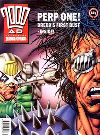 Cover Thumbnail for 2000 AD (Fleetway Publications, 1987 series) #775