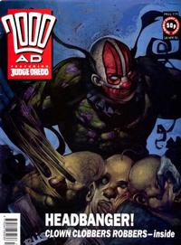 Cover Thumbnail for 2000 AD (Fleetway Publications, 1987 series) #779