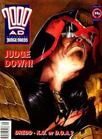 Cover Thumbnail for 2000 AD (Fleetway Publications, 1987 series) #798