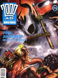 Cover for 2000 AD (Fleetway Publications, 1987 series) #799