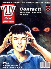 Cover for 2000 AD (Fleetway Publications, 1987 series) #804
