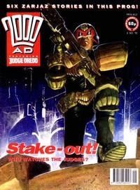 Cover for 2000 AD (Fleetway Publications, 1987 series) #812