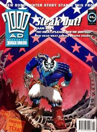 Cover for 2000 AD (Fleetway Publications, 1987 series) #813