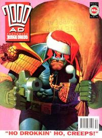 Cover for 2000 AD (Fleetway Publications, 1987 series) #815