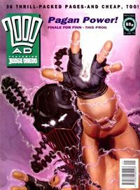Cover Thumbnail for 2000 AD (Fleetway Publications, 1987 series) #816