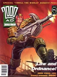 Cover Thumbnail for 2000 AD (Fleetway Publications, 1987 series) #822