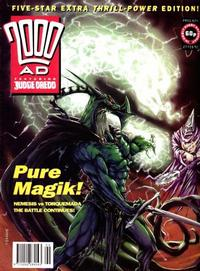 Cover Thumbnail for 2000 AD (Fleetway Publications, 1987 series) #824