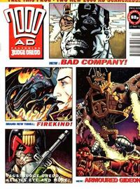 Cover Thumbnail for 2000 AD (Fleetway Publications, 1987 series) #828