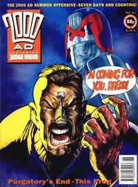 Cover for 2000 AD (Fleetway Publications, 1987 series) #841