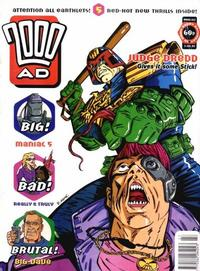 Cover Thumbnail for 2000 AD (Fleetway Publications, 1987 series) #842