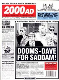 Cover Thumbnail for 2000 AD (Fleetway Publications, 1987 series) #843