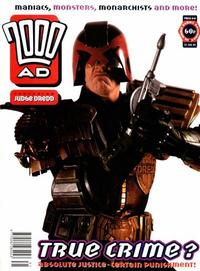 Cover for 2000 AD (Fleetway Publications, 1987 series) #846