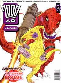 Cover for 2000 AD (Fleetway Publications, 1987 series) #849