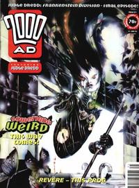 Cover for 2000 AD (Fleetway Publications, 1987 series) #871