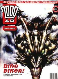 Cover for 2000 AD (Fleetway Publications, 1987 series) #877