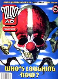 Cover for 2000 AD (Fleetway Publications, 1987 series) #887