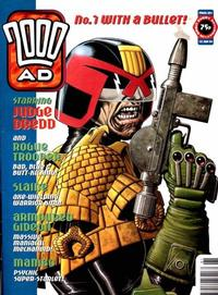 Cover for 2000 AD (Fleetway Publications, 1987 series) #891