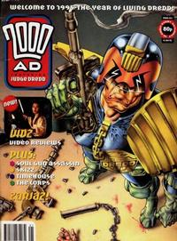Cover Thumbnail for 2000 AD (Fleetway Publications, 1987 series) #921