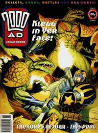 Cover for 2000 AD (Fleetway Publications, 1987 series) #922