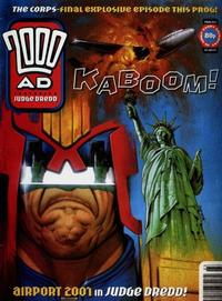 Cover Thumbnail for 2000 AD (Fleetway Publications, 1987 series) #923