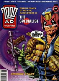 Cover for 2000 AD (Fleetway Publications, 1987 series) #926