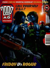 Cover Thumbnail for 2000 AD (Fleetway Publications, 1987 series) #930