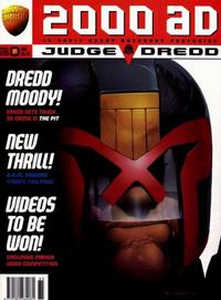 Cover for 2000 AD (Fleetway Publications, 1987 series) #985
