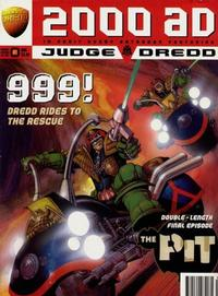 Cover for 2000 AD (Fleetway Publications, 1987 series) #999