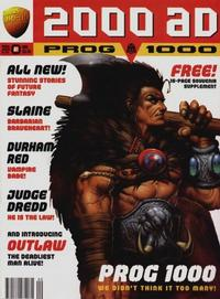 Cover Thumbnail for 2000 AD (Fleetway Publications, 1987 series) #1000