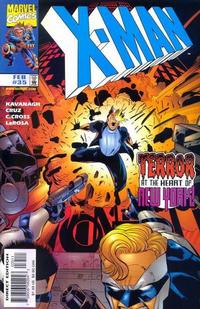 Cover Thumbnail for X-Man (Marvel, 1995 series) #35 [Direct Edition]