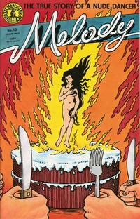 Cover Thumbnail for Melody (Kitchen Sink Press, 1988 series) #10