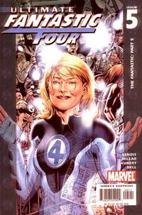 Cover Thumbnail for Ultimate Fantastic Four (Marvel, 2004 series) #5
