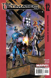 Cover Thumbnail for The Ultimates (Marvel, 2002 series) #12