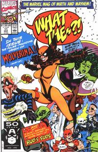 Cover Thumbnail for What The--?! (Marvel, 1988 series) #11 [Direct]