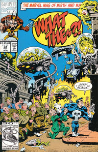 Cover Thumbnail for What The--?! (Marvel, 1988 series) #22