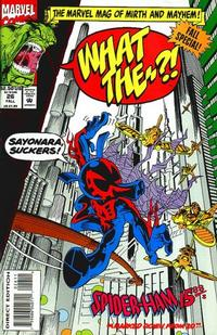 Cover Thumbnail for What The--?! (Marvel, 1988 series) #26