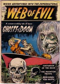 Cover Thumbnail for Web of Evil (Quality Comics, 1952 series) #1