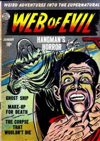 Cover Thumbnail for Web of Evil (Quality Comics, 1952 series) #2