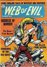 Cover Thumbnail for Web of Evil (Quality Comics, 1952 series) #3