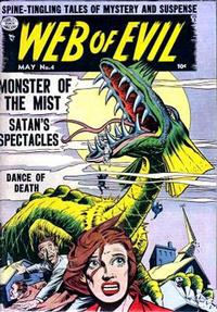 Cover Thumbnail for Web of Evil (Quality Comics, 1952 series) #4
