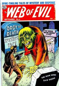 Cover Thumbnail for Web of Evil (Quality Comics, 1952 series) #6