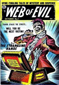 Cover Thumbnail for Web of Evil (Quality Comics, 1952 series) #7